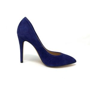 Iro Blue Suede Pumps